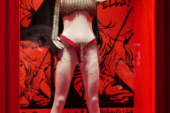 Original  Barbarella costume worn by Jane Fonda
