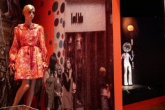 Dress and mannequin owned and worn by Twiggy