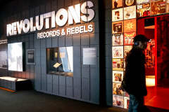 Revolutions, Records & Rebels exhibition